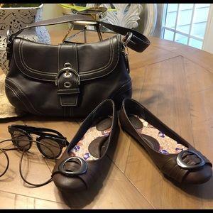 Coach, shoes,glasses,